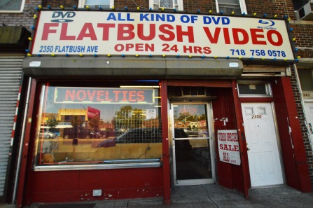 Flatbush Video, Brooklyn, NY. August 2016. (c) Gabrielle Lipner