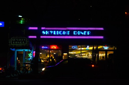 Skylight Diner, New York, NY. December 2015. (c) Gabrielle Lipner